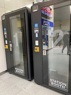 JR幕張本郷駅に「STATION BOOTH」登場!