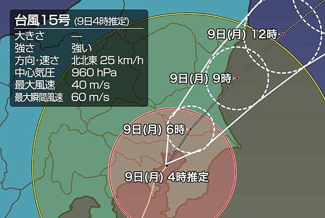 台風 千葉 被害